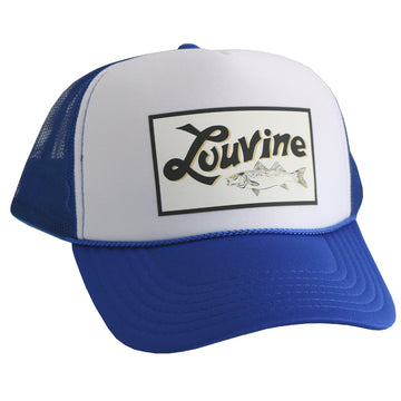 Louvine New Logo Trucker SKY BLUE/WHITE Mesh back