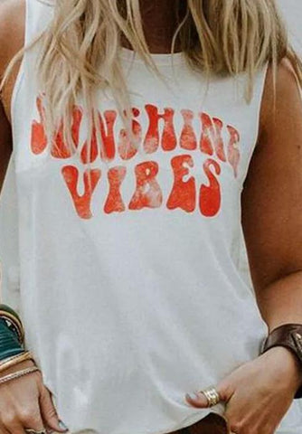 Sunshine Vibes Tank top