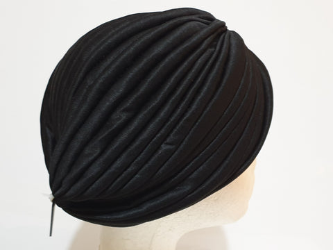 Black head turban