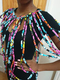 African Multi Strand - Handmade Cape Necklace