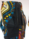 Dashiki print backpack