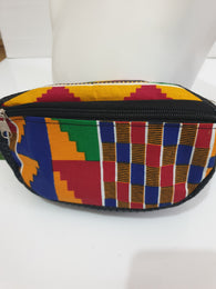 African fabric Waist bag / bum bag