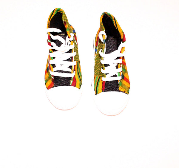 African print sneakers / trainers - Size 32 (children's shoe)