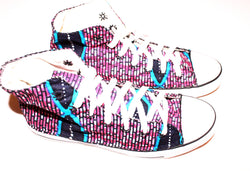 African print sneakers / trainers - Size 40 (7)