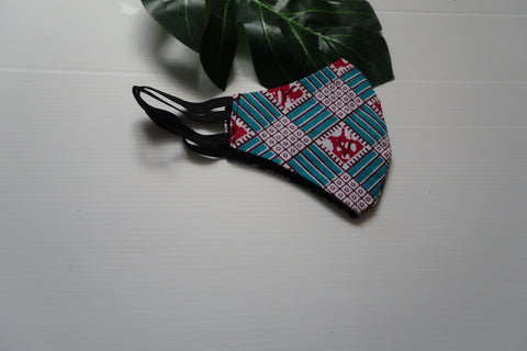 Cotton face mask - African fabric