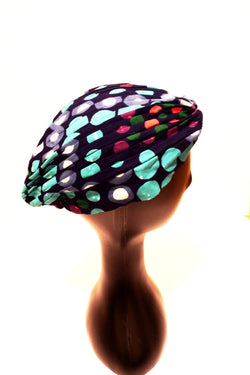 Colourful head turban