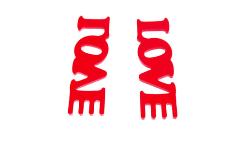 LOVE - earrings