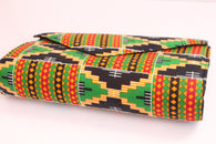 Kente clutch bag - Large