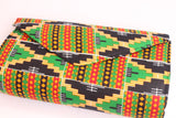 Clutch bag - kente (Medium)