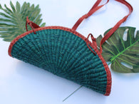 Straw bag - Green