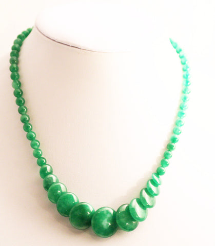 Jade handmade necklace