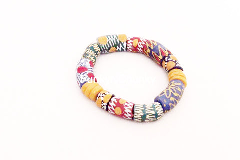 Glass bead bracelet - Traditional