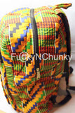Kente backpack
