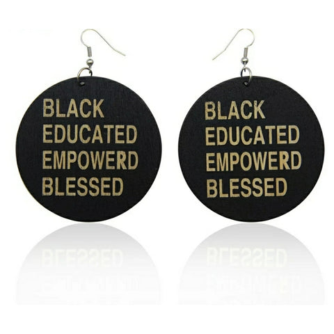 Black Blessed Educated Empowered