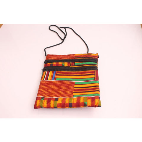 African fabric passport bag - Messenger bag