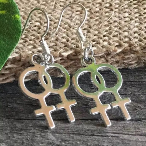 Gender Symbol - Pride Drop Earrings
