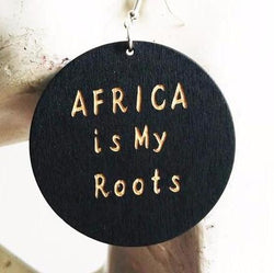 Africa is my roots earrings