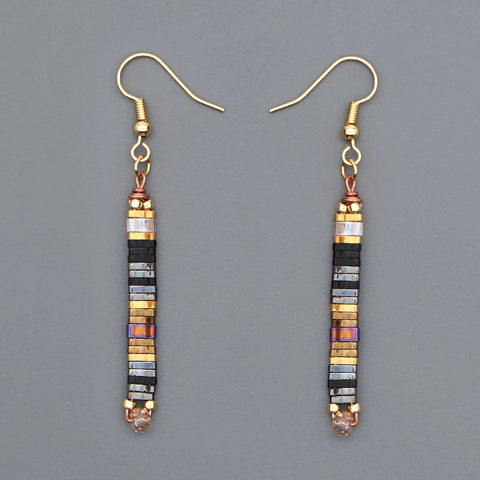 Tila Bead earrings