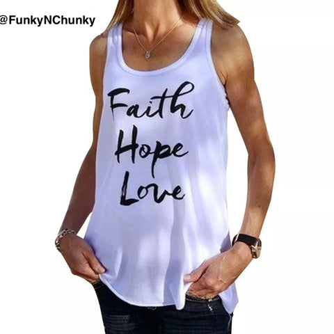 Faith Hope Love - Tank top