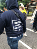 Black Lives Matter hoodie - Navy blue