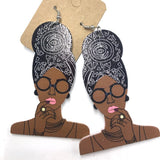 Top Knot Head Wrap Earrings
