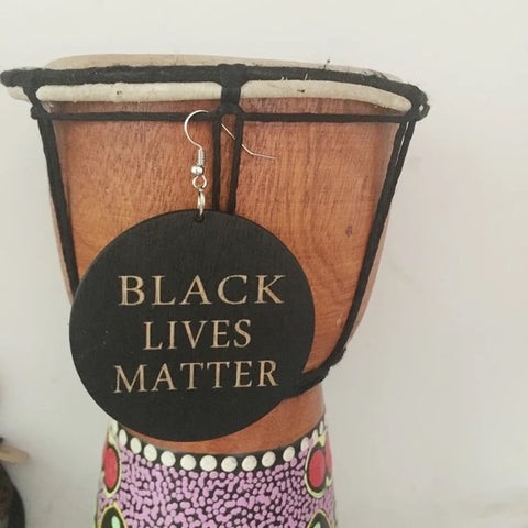 Black Lives Matter - earrings