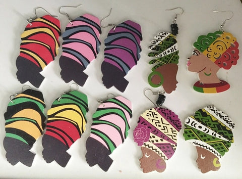 Head Wrap Earrings