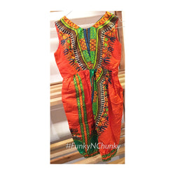 Dashiki children's jumpsuit - Age 6