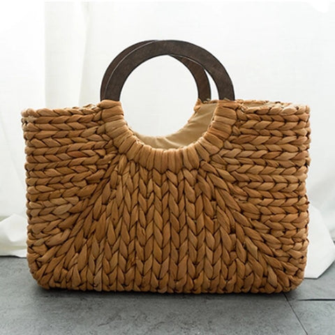 Straw Tote Beach & summer bag