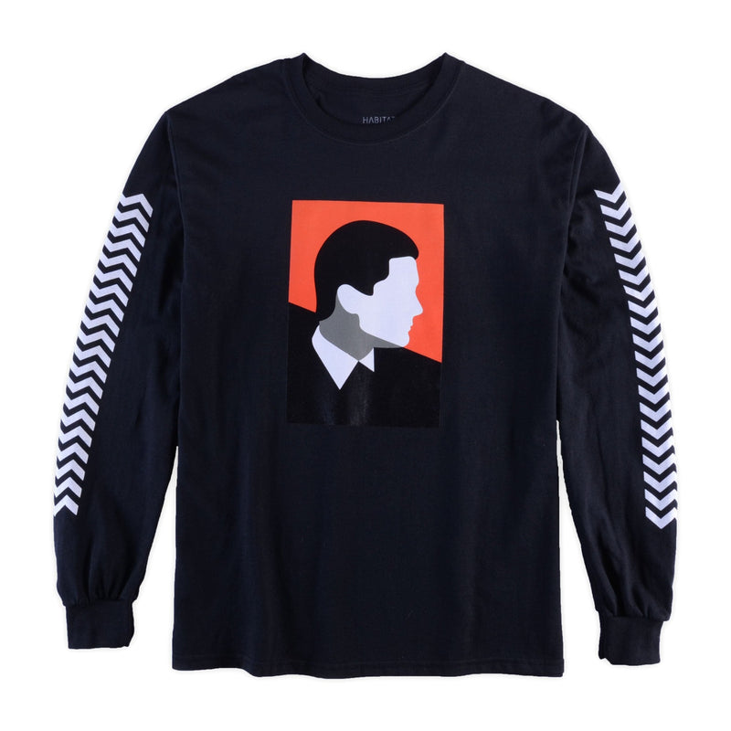TWIN PEAKS COOPER LONG SLEEVE TEE BLACK
