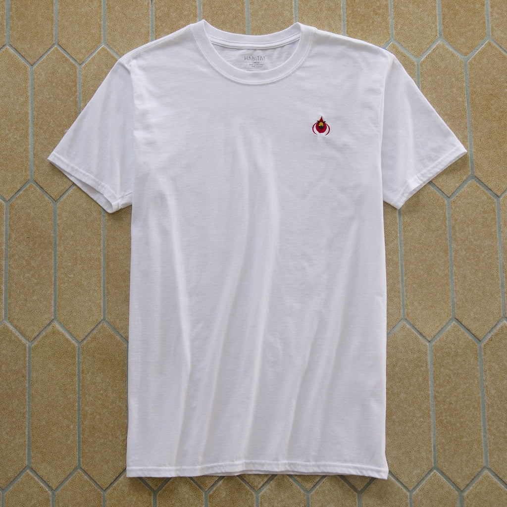 CARDINAL EMBROIDERED TEE