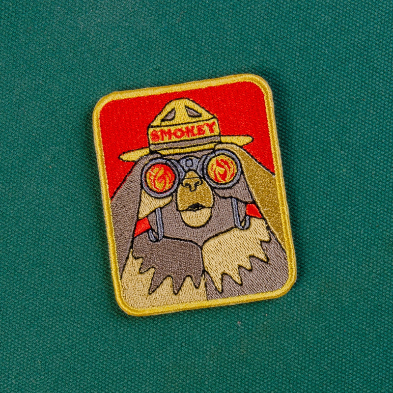 Smokey Bearnoculars Patch