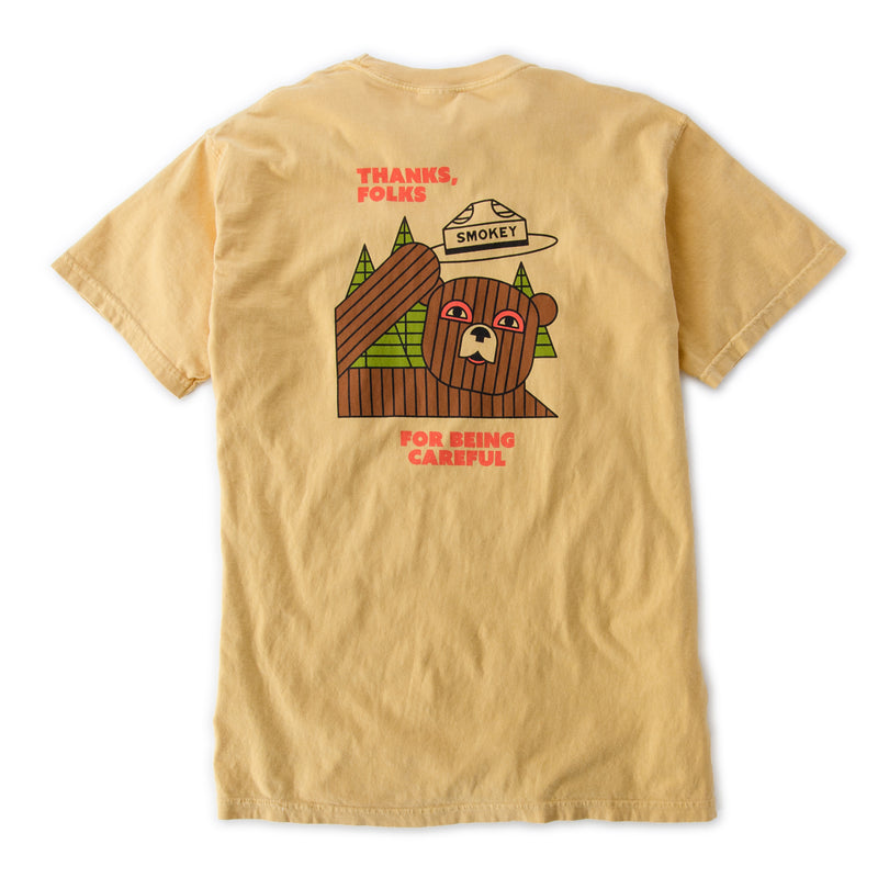 Smokey Thanks Folks T-Shirt