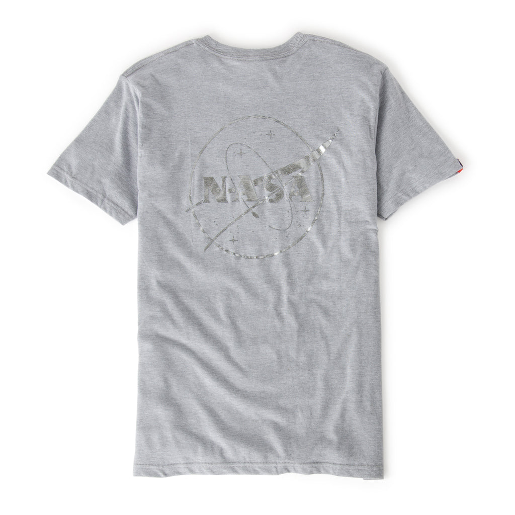 NASA Foil Meatball Logo T-Shirt