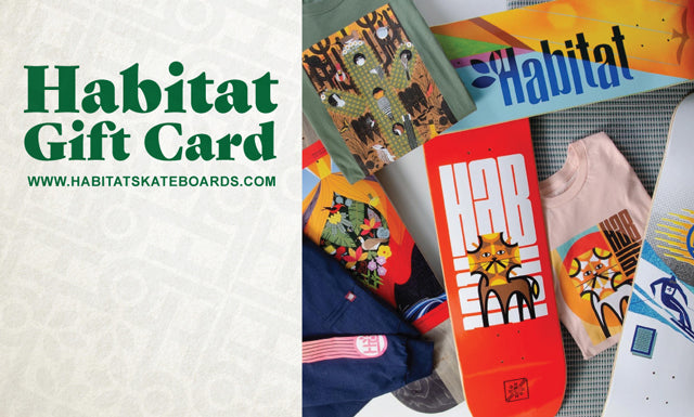 Habitat Skateboards gift card