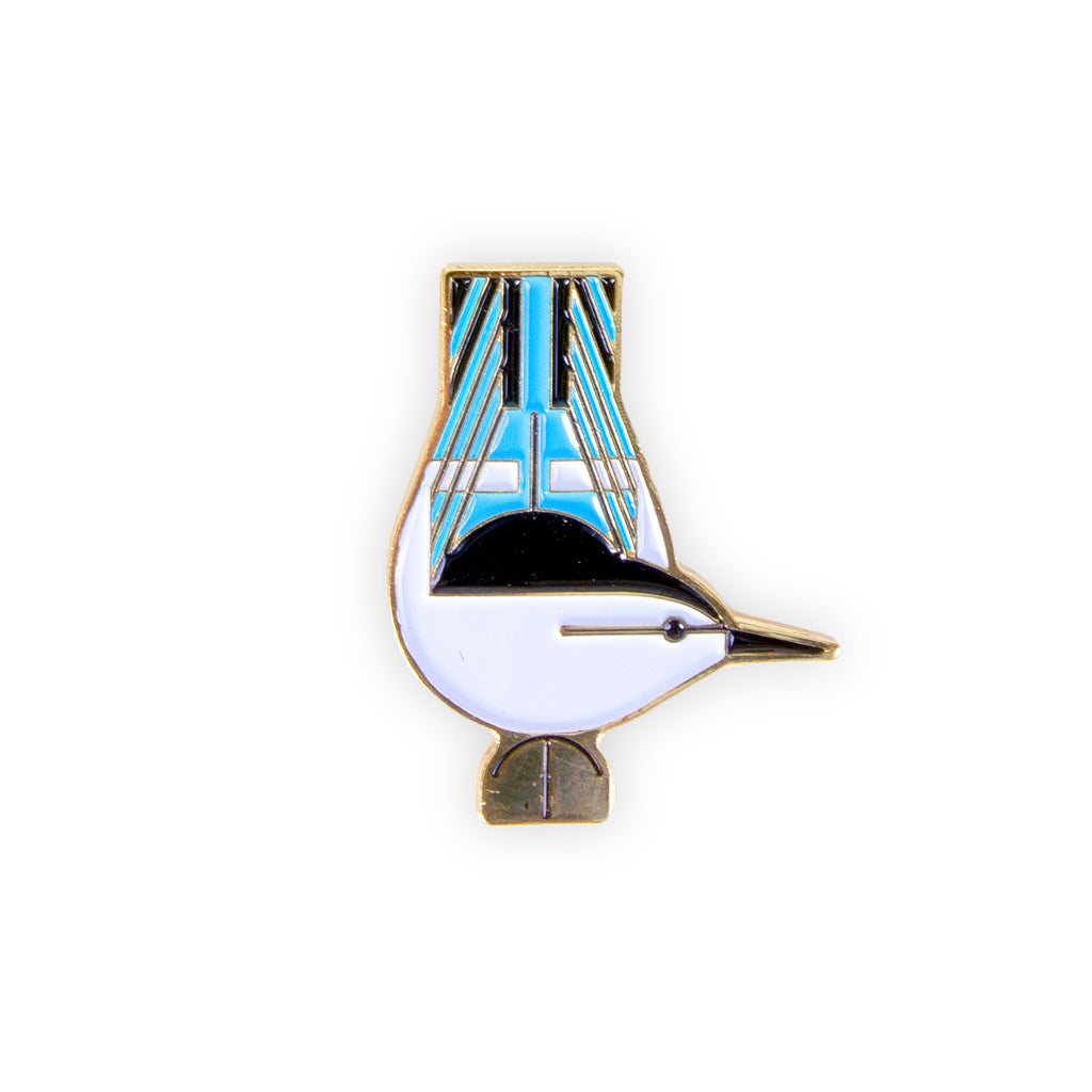 Harper Nuthatch Pin