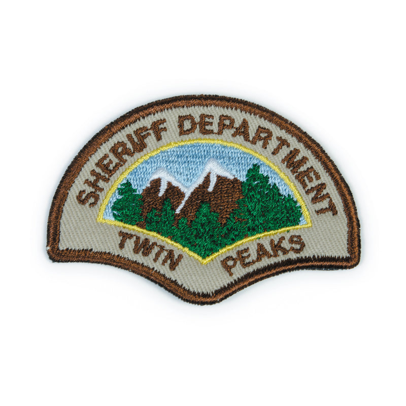 TWIN PEAKS SHERIFF PATCH