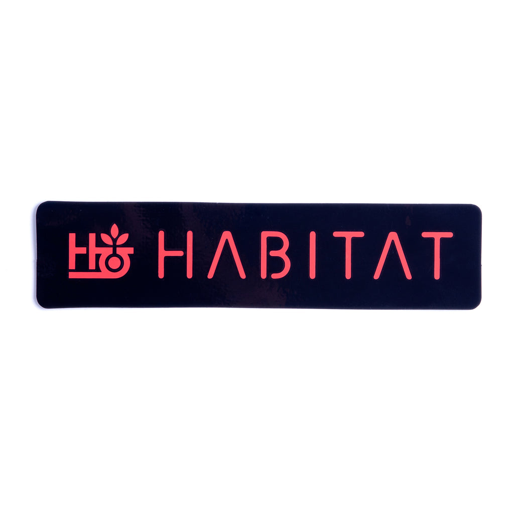 HABITAT POD STENCIL DECAL