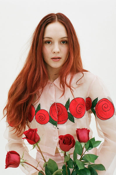 Reckless Rose Blouse
