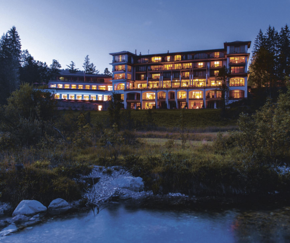 Familienhotel Schloss Elmau Luxury Spa Retreat Bayern