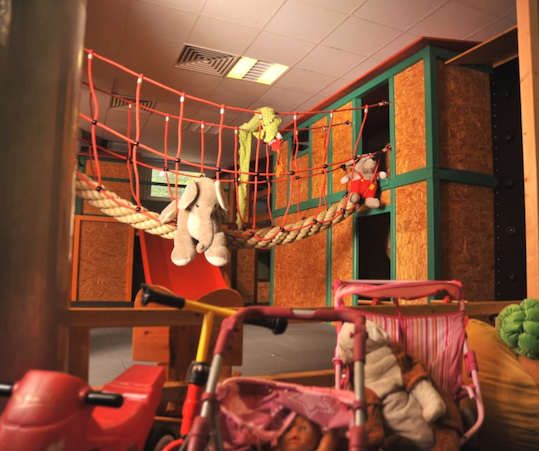 Indoorspielplatz Kinderkiste