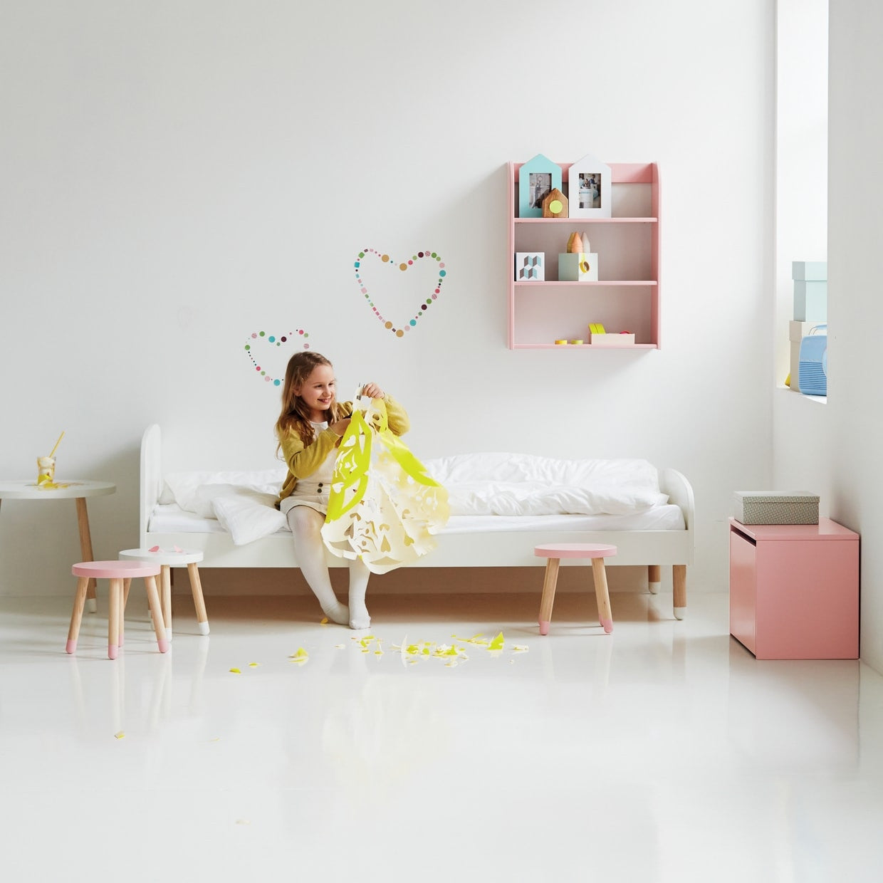 flexa kinderbett play in wei online kaufen kidswoodlove. Black Bedroom Furniture Sets. Home Design Ideas