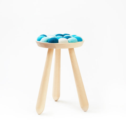 Aveva Design WOW STOOL Hocker in blau