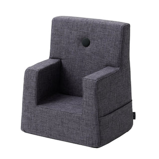 "byKlipKlap Kindersessel ""KK Kids Chair"" (0-3 Jahre) - Blue grey / grey"