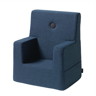 "byKlipKlap Kindersessel ""KK Kids Chair"" (0-3 Jahre) - Dark blue / black"
