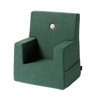 "byKlipKlap Kindersessel ""KK Kids Chair"" (0-3 Jahre) - Deep green / light green"