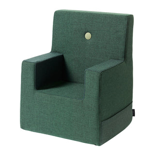 "byKlipKlap Kindersessel ""KK Kids Chair XL"" (2-6 Jahre) - Deep green / light green"