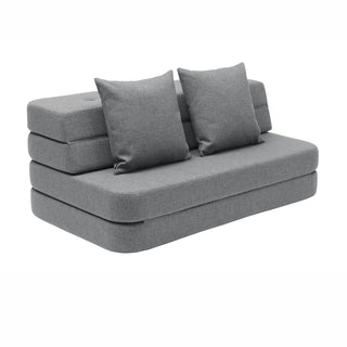 "byKlipKlap multifunktionales Sofa ""KK 3 Fold Sofa XL"" (140cm) - Blue grey / grey"