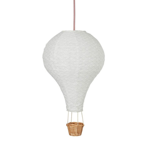CamCam Kinderlampe in Ballon-Form grau
