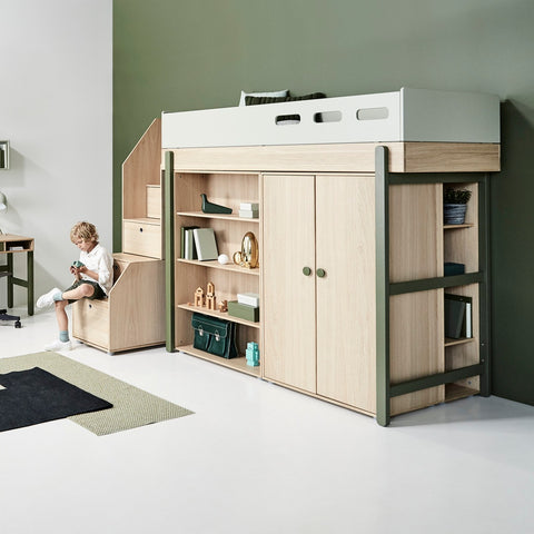Flex Bücherregal schmal Kombination Popsicle Kinderzimmer